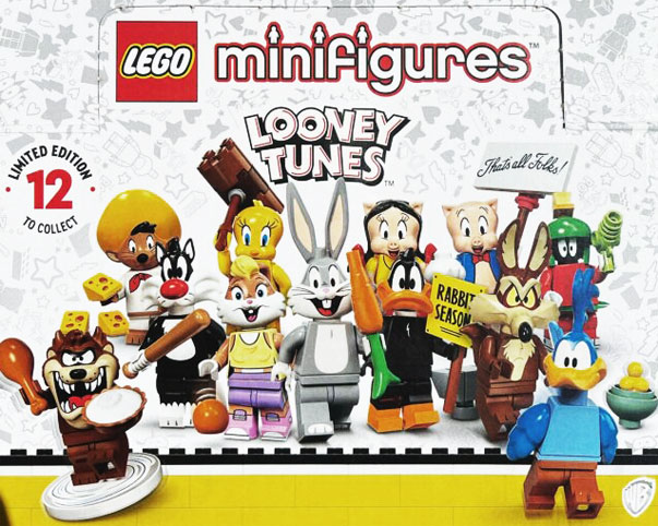 serie mini figurine LEGO looney toones warner bros 71030
