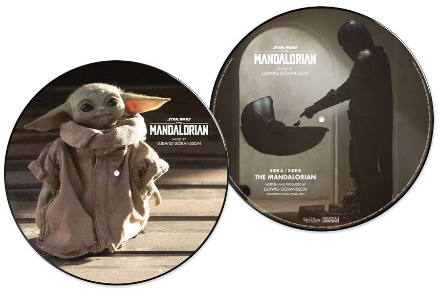 Star Wars Mandalorian Vinyle LP bande originale ost soundtrack