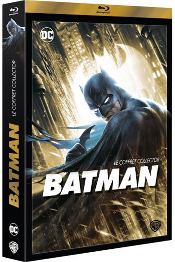 batman coffret collector integrale film anime animation