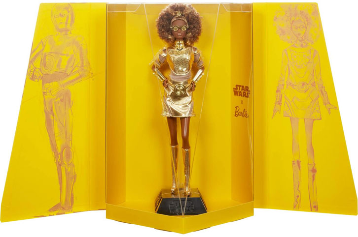 Barbie Star Wars C 3PO edition signature limitee