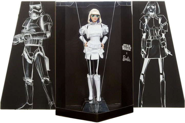 Barbie Star wars stormtrooper