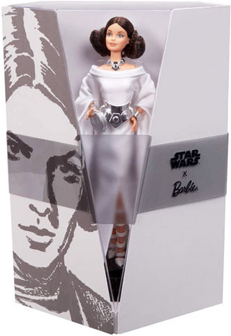 Barbie princess leia