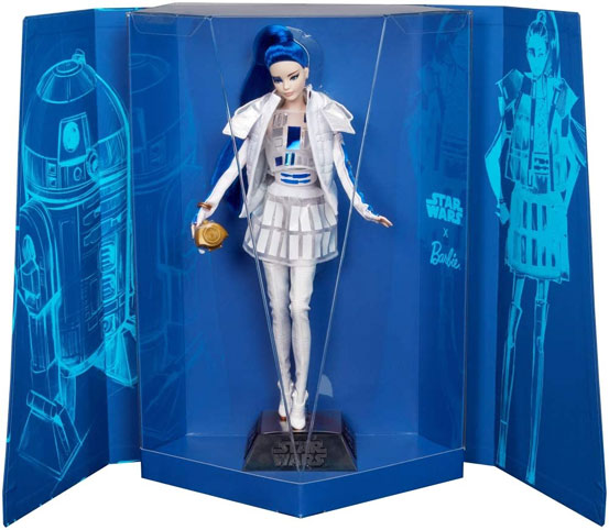 Barbie signature r2 d2 collector edition limitee star wars