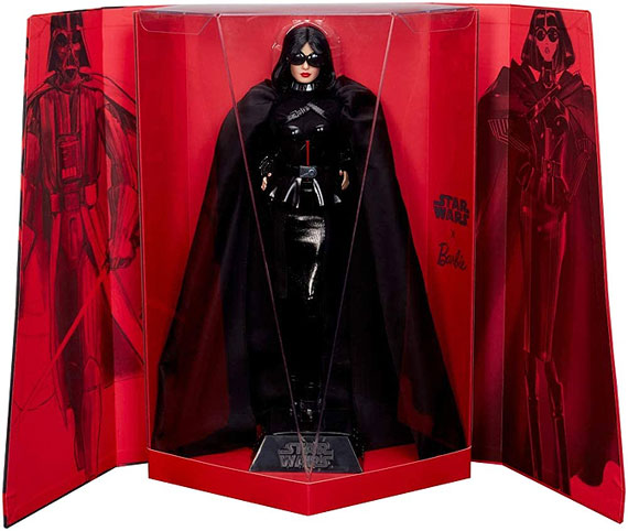 Star Wars barbie signature edition limitee dark vador vader