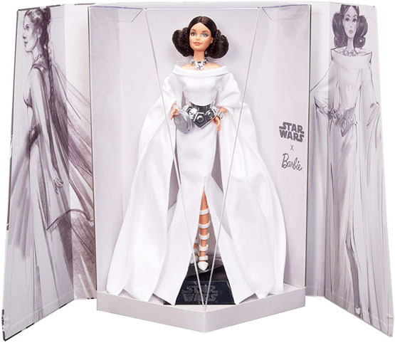Star Wars barbie signature leia