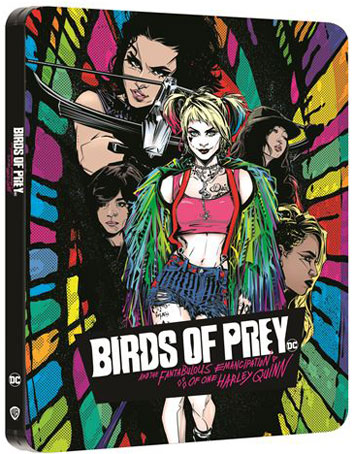 Birds of prey steelbook comic bluray 4k