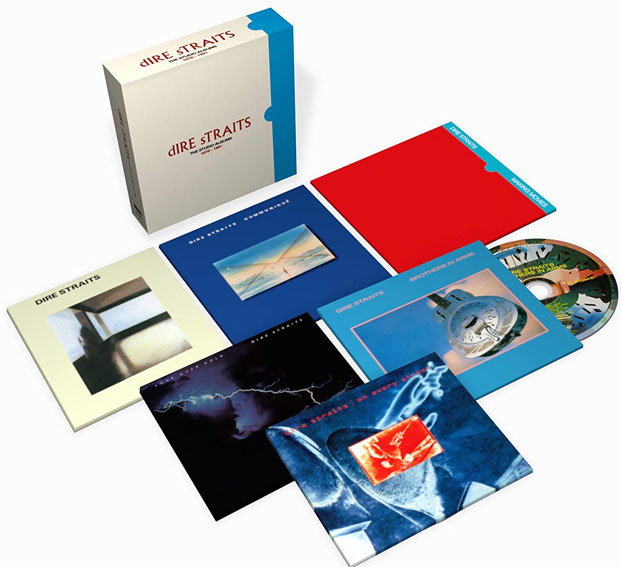 Dire straits coffret integrale CD 2020
