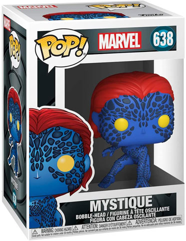 Figurine funko pop mystique xmen 20th