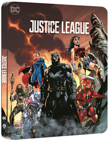 Justice League Blu ray 4K Ultra HD