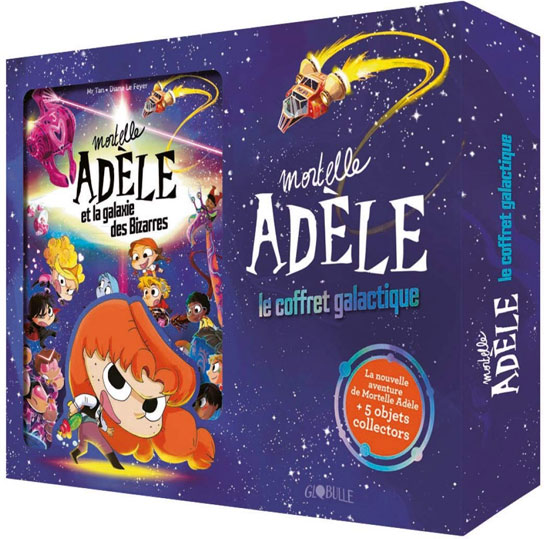 Mortelle adele coffret collector edition limitee nouvel BD
