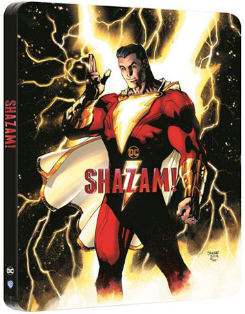 Steelbook 4k shazam bluray edition limitee comic
