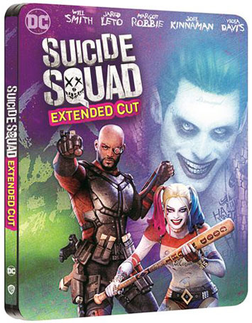 Suicide Squad extended Steelbook Bluray 4k