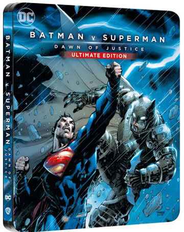 batman v superman steelbook comic edition