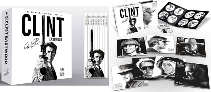 coffret integrale bluray 2020 clint eastwood