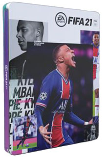 fifa 21 steelbook collector kyllian mbappe