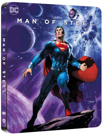 man of steelbook comic steelbook edition bluray 4k