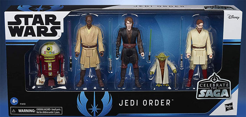 Pack figurien Jedi Star Wars edition collector Hasbro