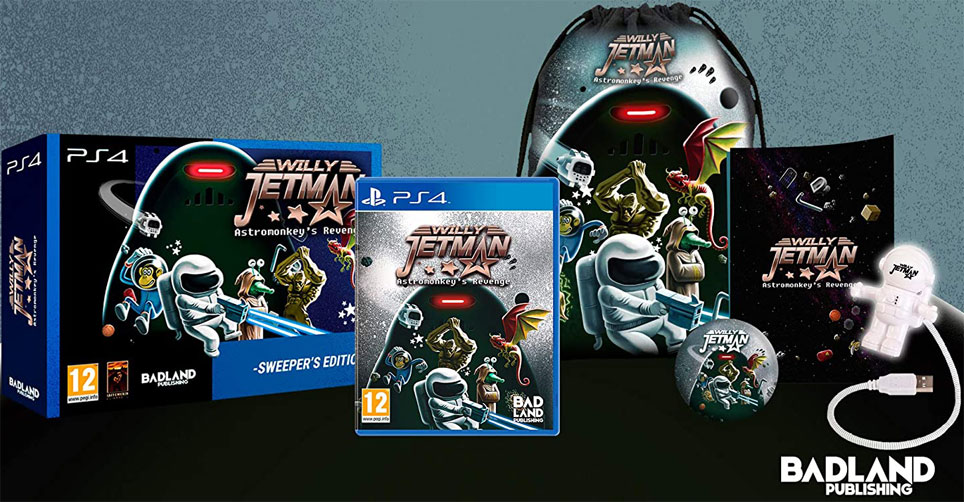Coffret collector Willy Jetman Asromonkey revenge sweeper edition PS4