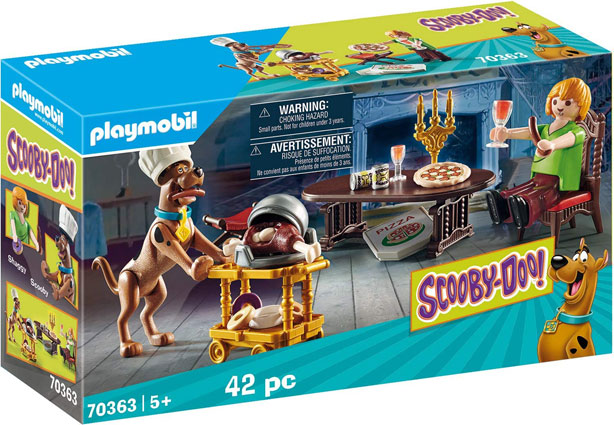 Scooby doo playmobil dier chez sammy collection