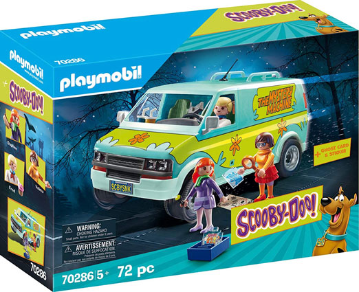 Vanne mystery machine Scooby Doo Playmobil 70286 camion