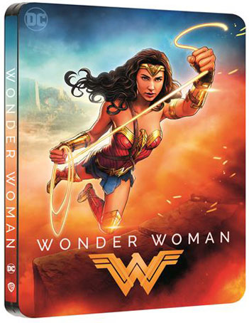 wonder Woman bluray 4k ultra hd