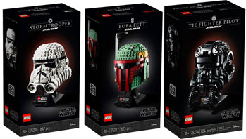 0 casque helmet lego star wars