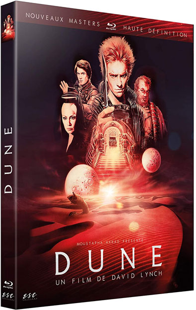 Dune Blu ray DVD edition 2020 version restauree HD