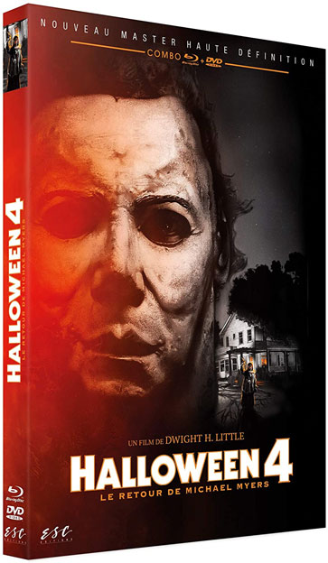 Halloween 4 Blu ray DVD version restauree HD