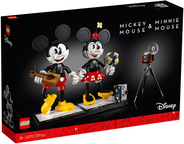 Lego mickey mini mouse 43179 collection disney 2020