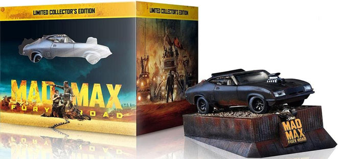 PROMO COLLECTOR MAD MAX VOITURE