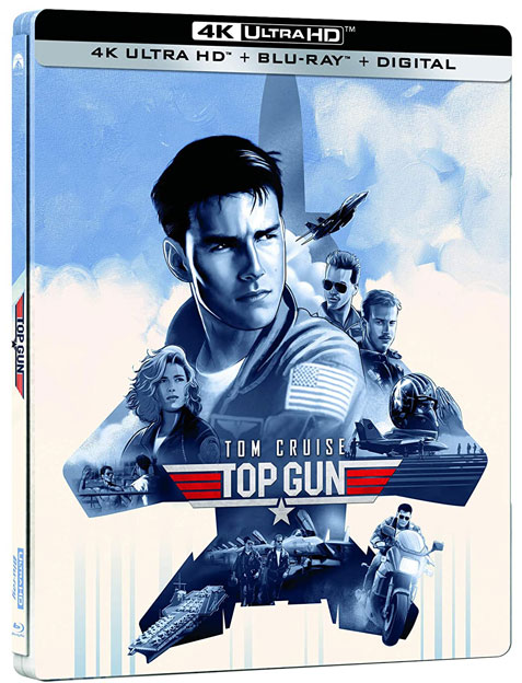 Top Gun Steelbook Collector Blu ray 4K Ultra HD 2020 tom cruise