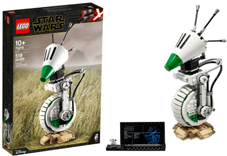 lego star wars 2020 nouvelle collection robot droid