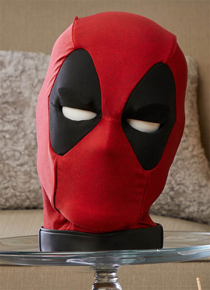 masque deadpool hasbro interactive collector