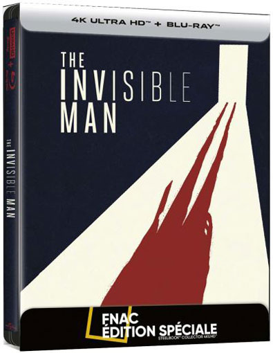 invisible man Blu ray 4K Ultra HD film 2020