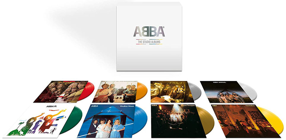 Abba studio album coffret integrale Vinyle LP Complete vinyl edition collector