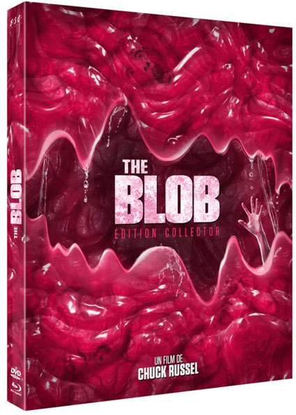 The Blob chuck russel 1988 Blu ray DVD edition collector limitee