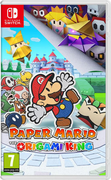 paper mario origami king nintendo switch