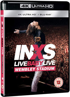 Concert Live blu ray 4K Ultra haute definition UHD