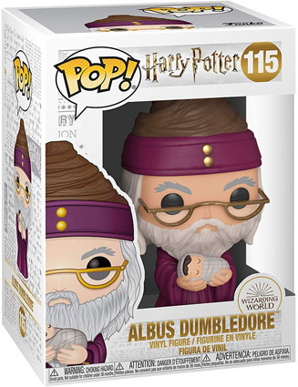 Dumbledore nouvelle figurine funko harry potter collection