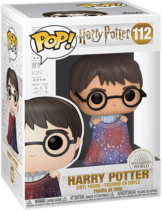 Funko pop harry potter cap invisibilite