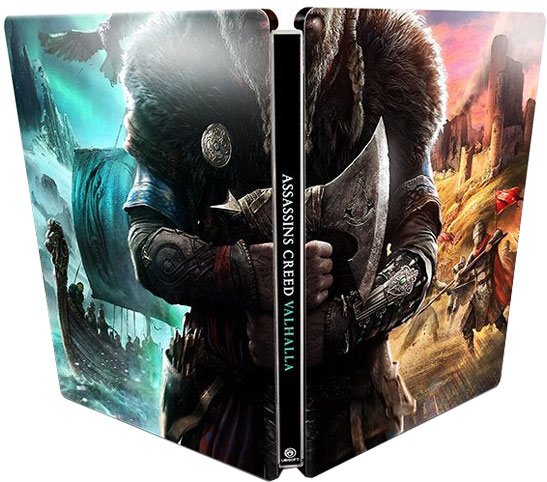 steelbook assassin creed valhalla