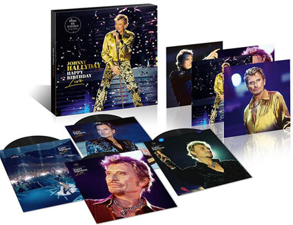 vinyle le box collector LP deluxe edition