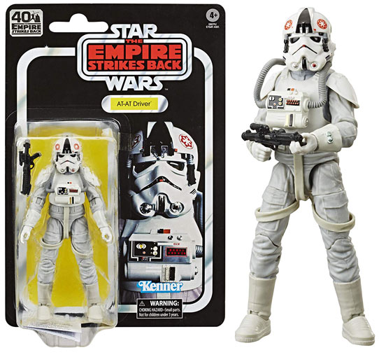AT AT driver figurine star wars black series 2020 40th anniversary strikes back