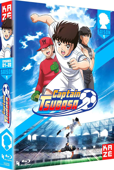 Captain Tsubasa olive tom coffret integrale Blu ray DVD