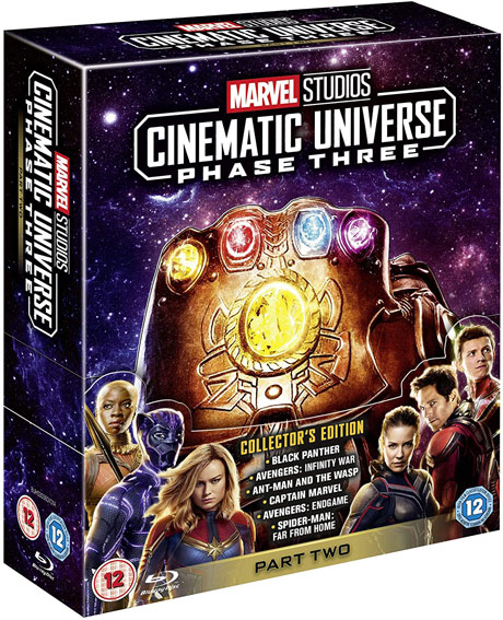 Coffret collector integrael MCU phase 3 partie 2 2020 Blu ray DVD