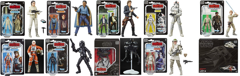 FIGURINE STAR WARS 40TH hasbro