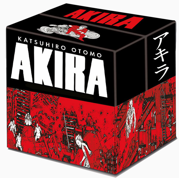 akira manga coffret integrale fr france glenat edition collector 2020