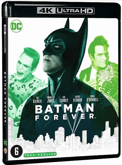 Batman Forever bluray 4k ultra HD
