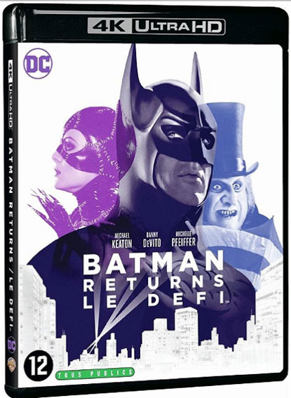 Batman Returns Blu ray 4K Ultra HD le defi