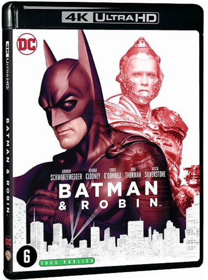 Batman Robin Blu ray 4K Ultra HD